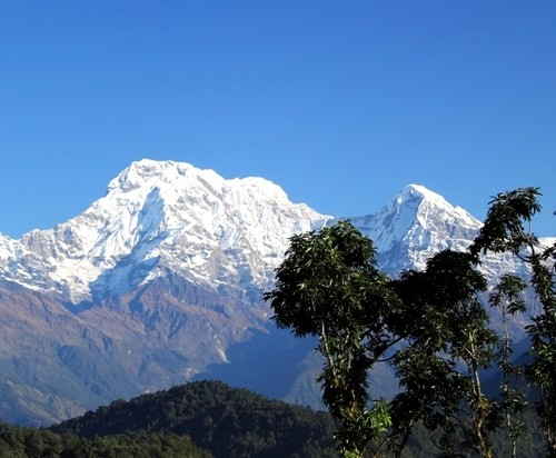 Annapurna South and Hiunchuli by Roantrum