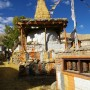Chortens in Ghami by Andrea